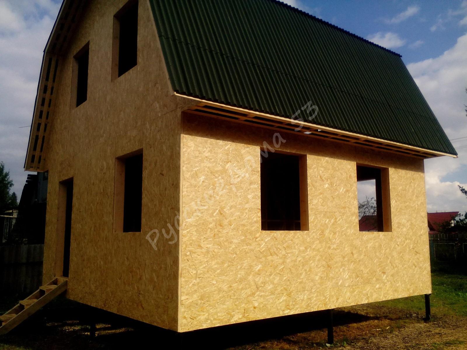 Рязань каркасно-щитовые дома своими руками